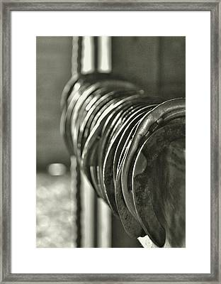 Blacksmith Collection Framed Print by JAMART Photography