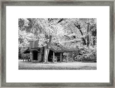 Blacksmith Shed Framed Print