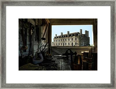 Blacksmith Shed Framed Print
