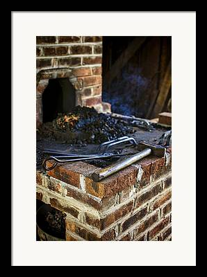 Preston Farm Framed Prints