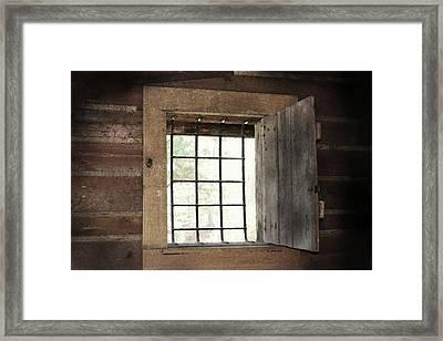 Blacksmith's View Framed Print by Kim Henderson