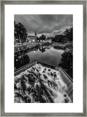 Blackstone River Framed Print