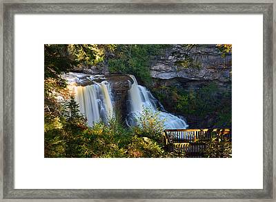 Blackwater Falls Framed Print