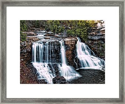 Blackwater Falls, West Virginia Framed Print