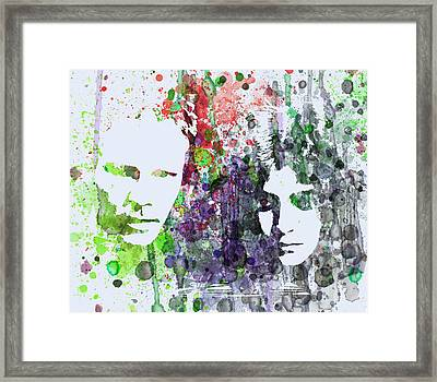 Blade Runner Framed Print by Naxart Studio