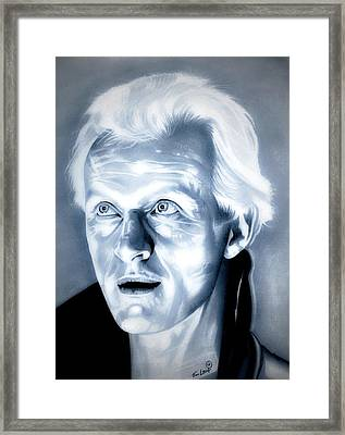 Blade Runner Roy Batty Framed Print