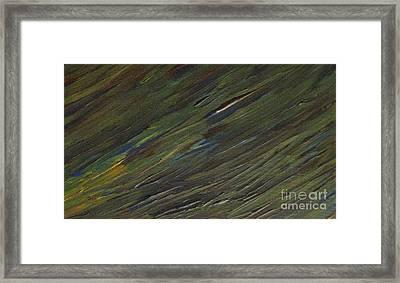 Grass Isn't Always Greener Framed Print by Shelly Wiseberg