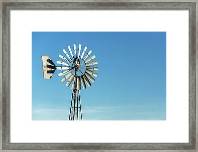 Blades Stand Alone Framed Print by Todd Klassy