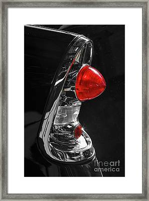 Framed Print featuring the photograph Black '56 by Dennis Hedberg