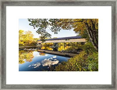 Framed Print featuring the photograph Blair Bridge by Anthony Baatz