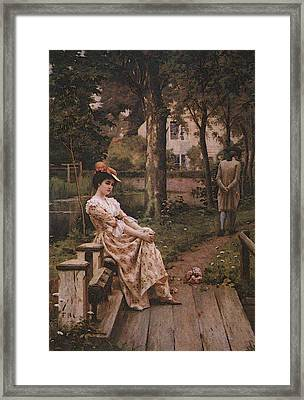 Blair Leighton Off Framed Print