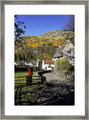 Framed Print featuring the photograph Blairlogie by Jeremy Lavender Photography
