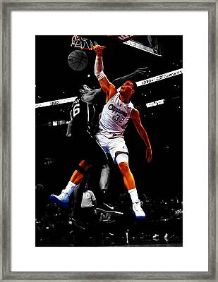 Blake Griffen Framed Print by Brian Reaves