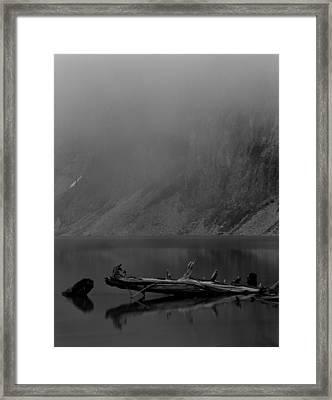 Blanca Lake Framed Print by Rakesh Malik