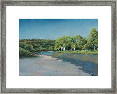 Blanco River Framed Print