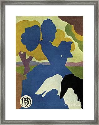 Blanco Y Negro 1934 1930s Spain Cc Dogs Framed Print
