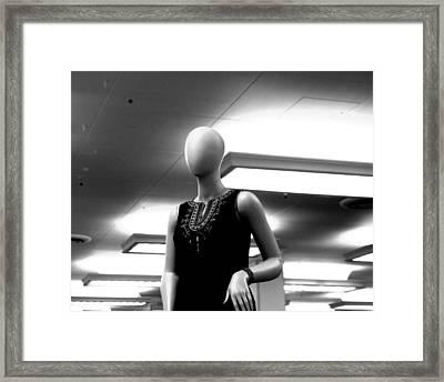 Blank Maria Framed Print by Jez C Self