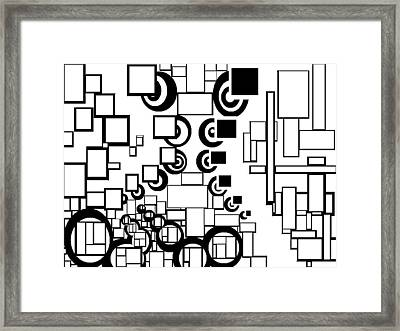 Blank Spaces Framed Print by William Burns