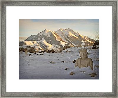 Blanket Of Peace Framed Print
