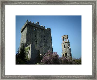 Blarney Castle And Tower County Cork Ireland Framed Print by Teresa Mucha