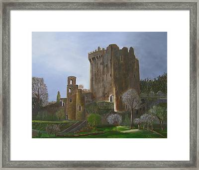 Blarney Castle Framed Print by LaVonne Hand