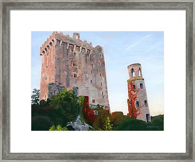 Framed Print featuring the painting Blarney Castle by Lynne Reichhart