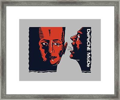 Blasphemous Rumours Us 12 Inch Framed Print by Luc Lambert