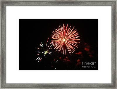 Blast And A Half Framed Print by Norman Andrus