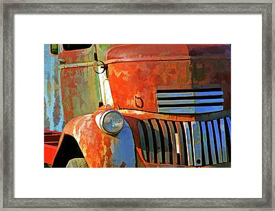 Blast From The Past 6 Framed Print