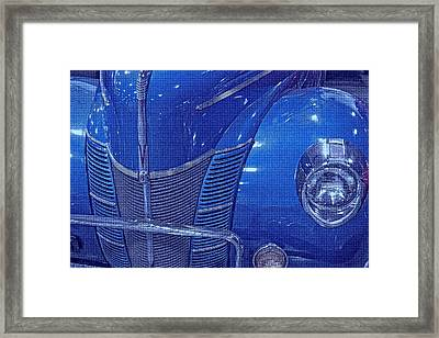 Electric Blue  Framed Print by Dennis Baswell