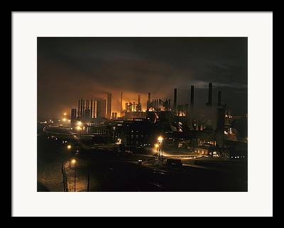 Industry And Production Framed Prints
