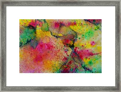 Blast Framed Print by Nicole Lee
