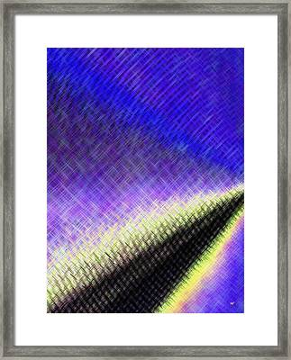 Blast Off Framed Print by Will Borden