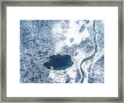 Blausee Framed Print by Chris M