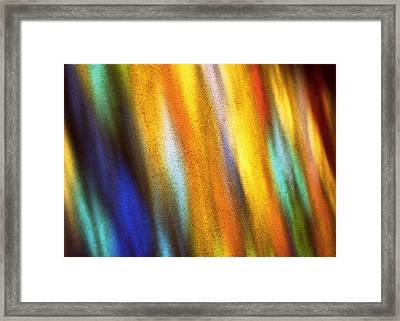 Framed Print featuring the photograph Blaze I by Kenneth Campbell