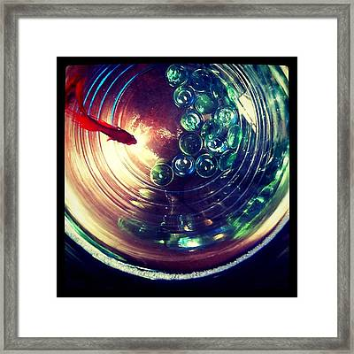 Framed Print featuring the photograph Blaze I by Kevin Bergen