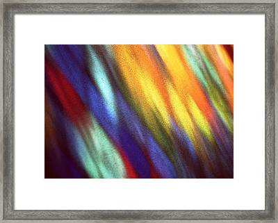 Framed Print featuring the photograph Blaze II by Kenneth Campbell