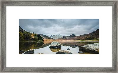 Blea Tarn In Cumbria Framed Print