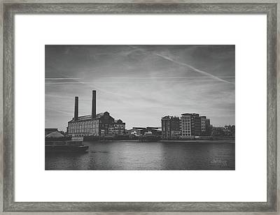 Bleak Industry Framed Print by Joseph Westrupp