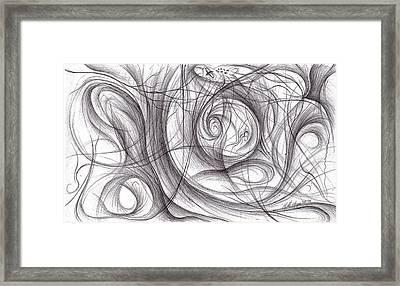 Bleak Migration Framed Print