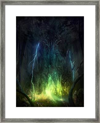Bleak Swamp Framed Print by Philip Straub