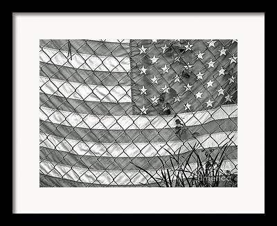 Loss Of Freedom Framed Prints