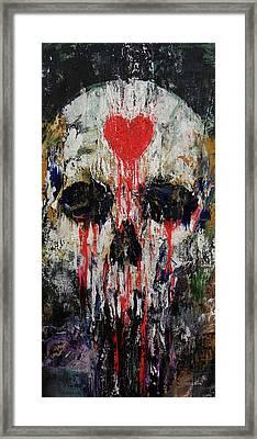 Bleeding Heart Framed Print by Michael Creese