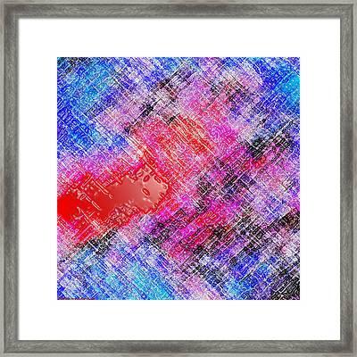 Bleeding Soul Framed Print by Cristophers Dream Artistry