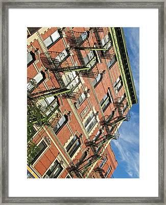 Bleeker Street Angles Framed Print