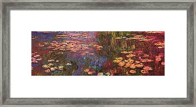 Blend 12 Monet Framed Print