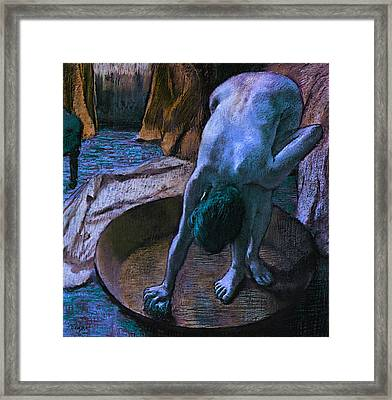 Blend 14 Degas Framed Print by David Bridburg