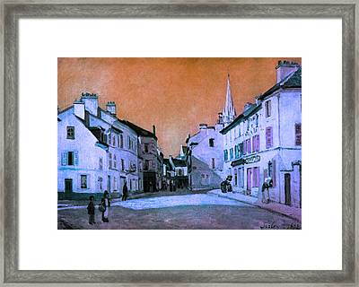 Blend 15 Sisley Framed Print by David Bridburg