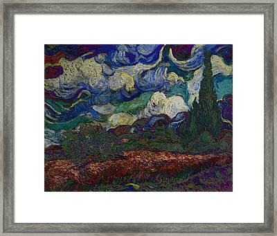 Blend 19 Van Gogh Framed Print