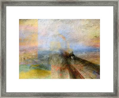 Blend 5 Turner Framed Print by David Bridburg